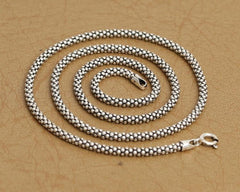 Sterling Silver Necklace for Pendants