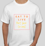 Eat to Live -Don't Live to Eat