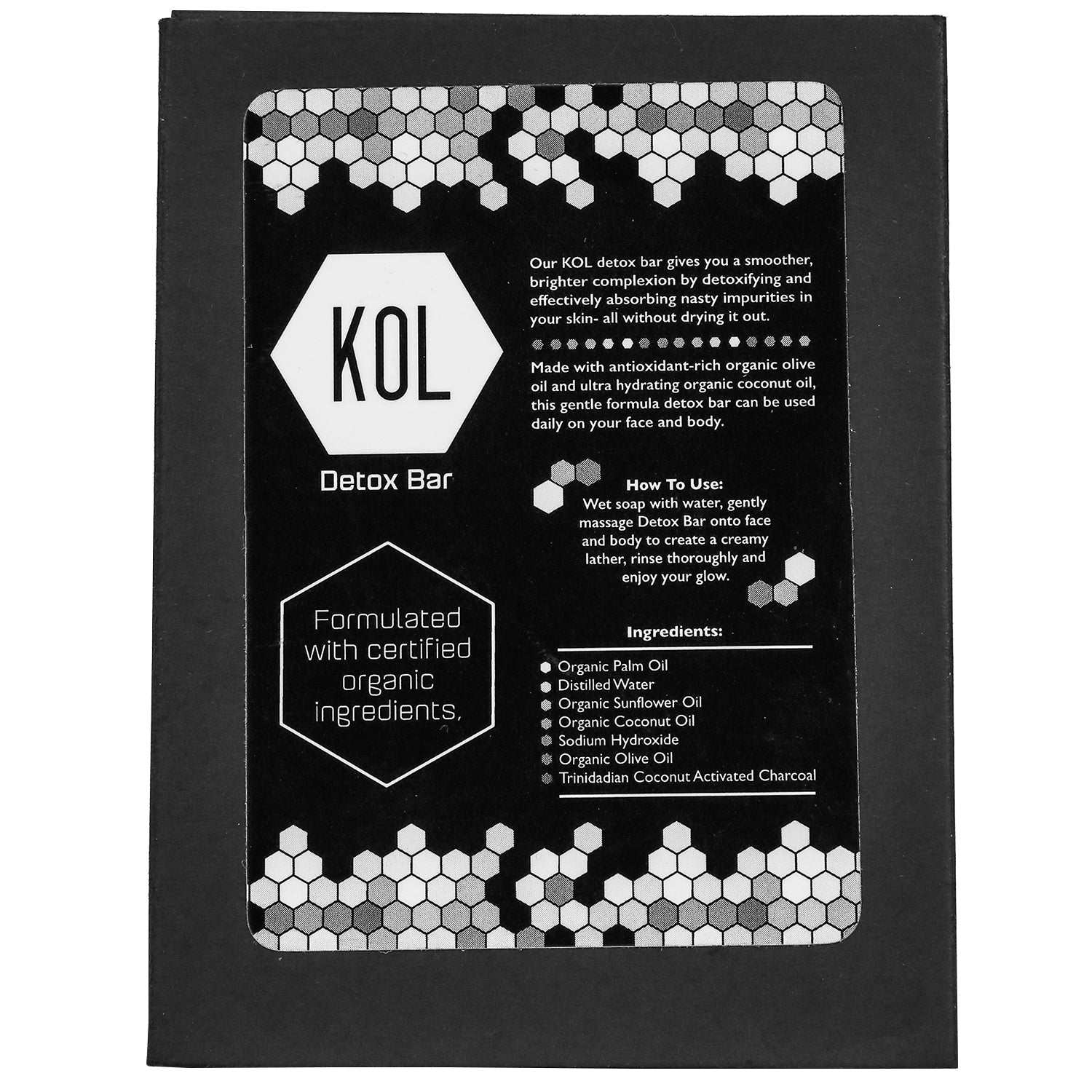 Detox Bar - KOL KARE | The #1 All Natural, Premium Charcoal Brand. Made in Miami.