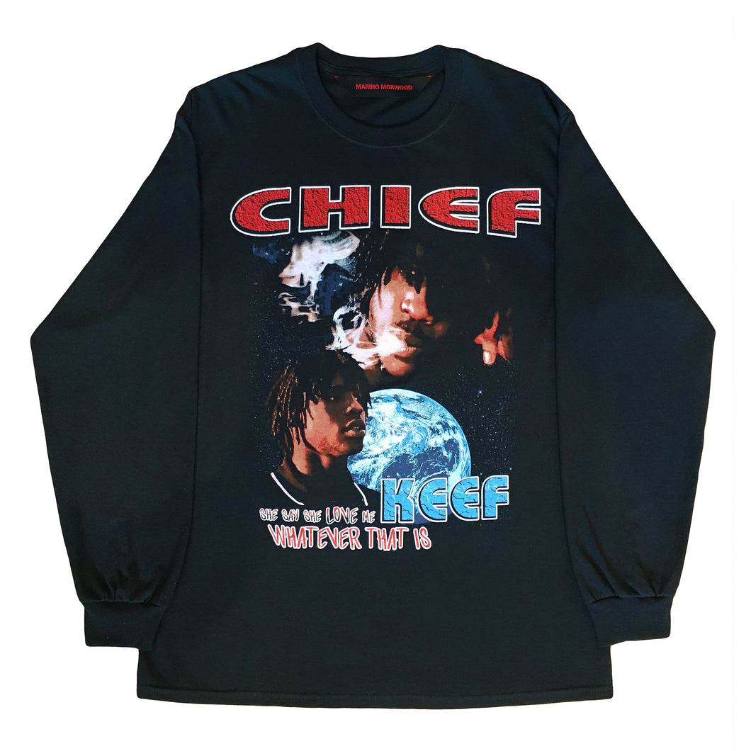 Marino Morwood Chief Keef She Say She Love Me Longsleeve