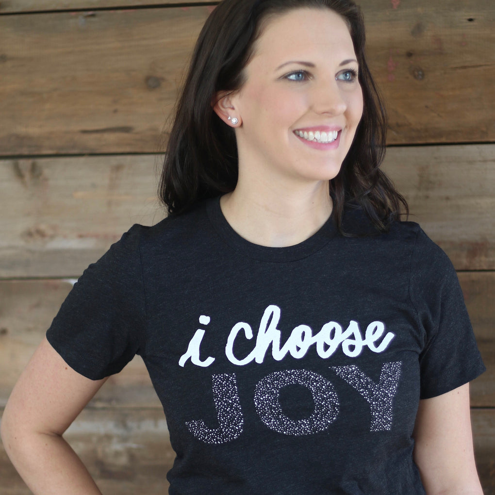 Black I Choose Joy T-Shirt