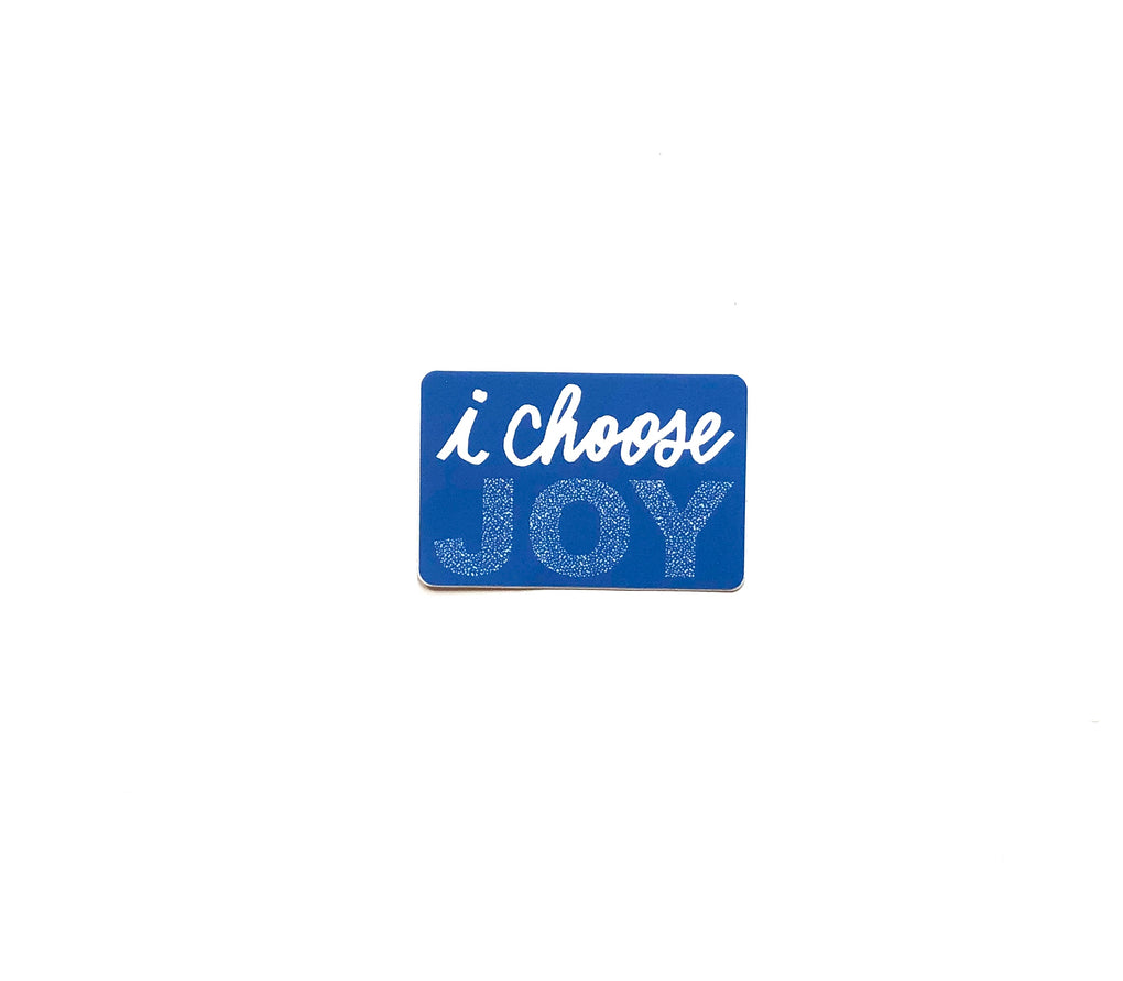 I Choose Joy Sticker