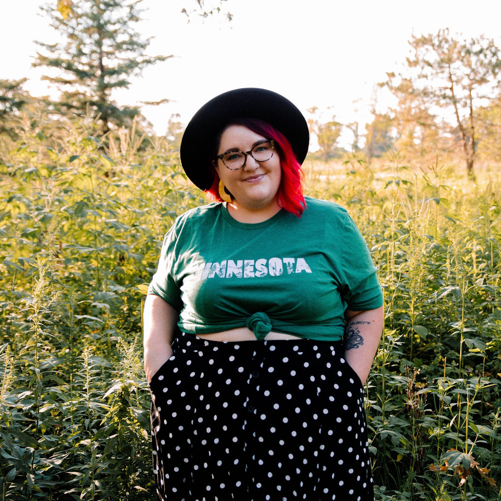 Green Minnesota t-shirt