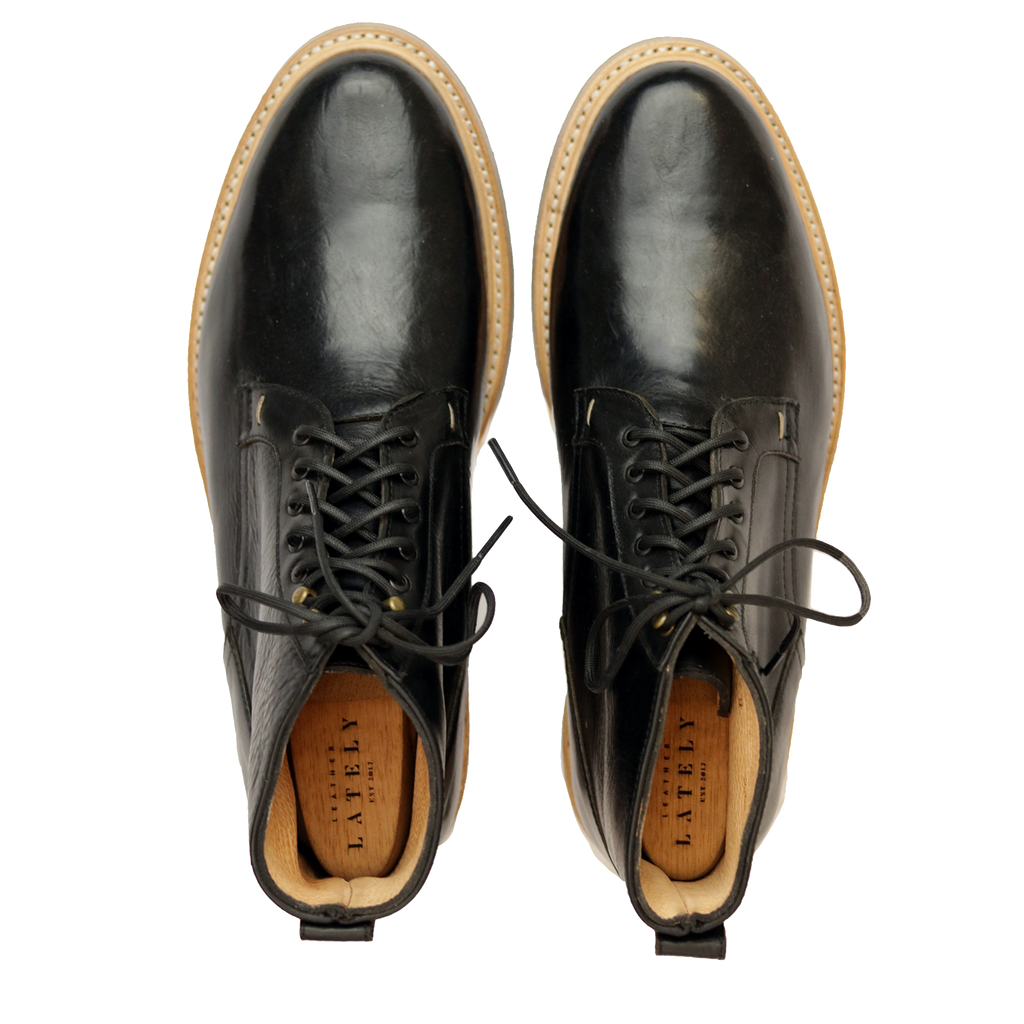 5262 London Plain Derby Boots