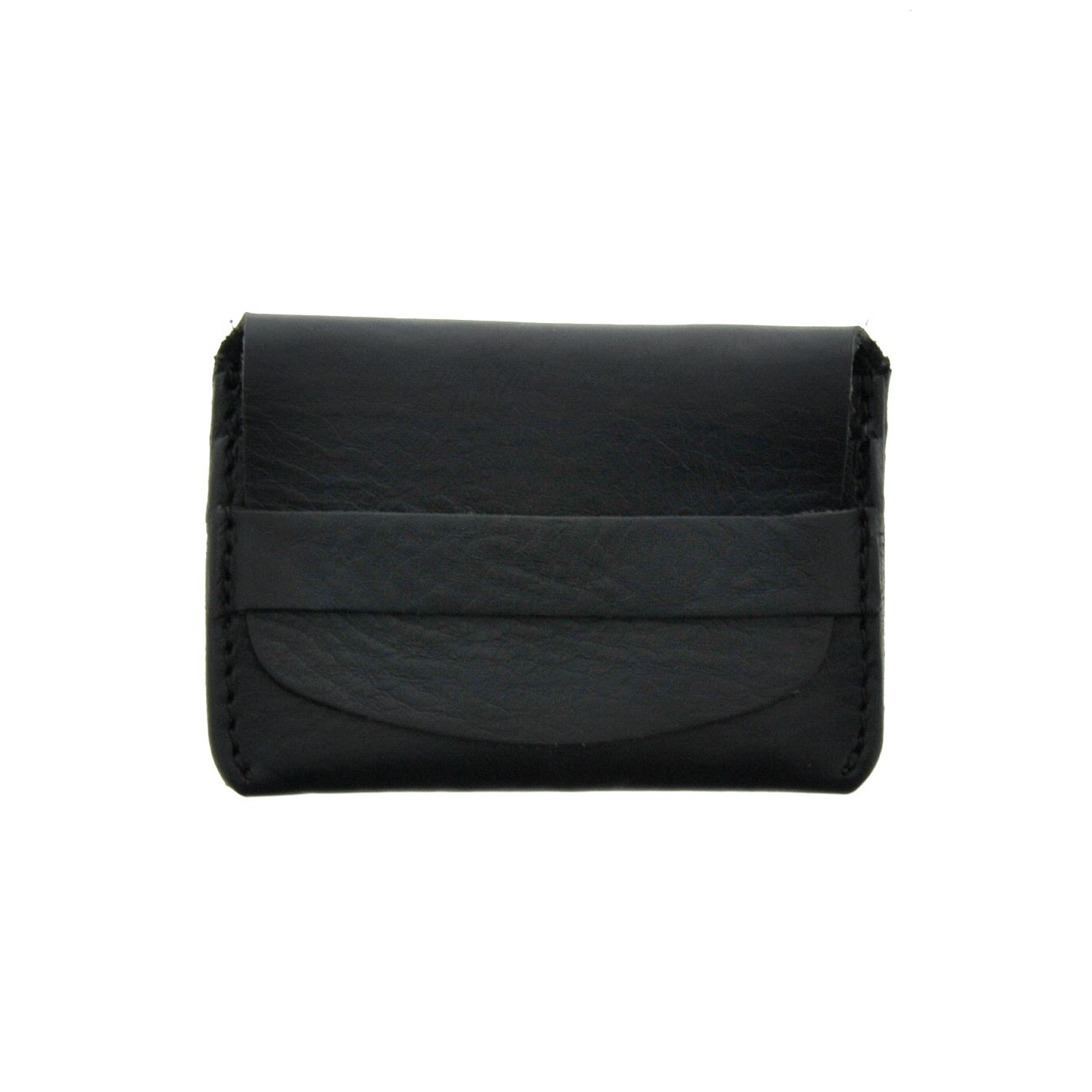 Leather Card Holder - Black - LeatherLately
