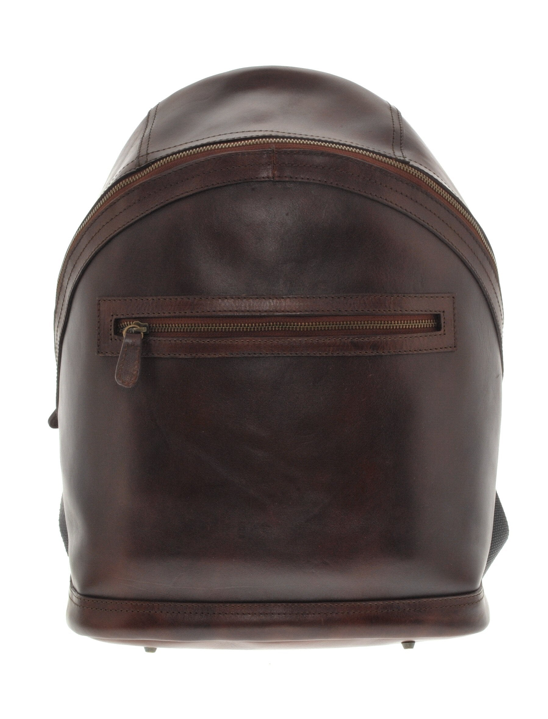 Leather Backpack - Brown - LeatherLately