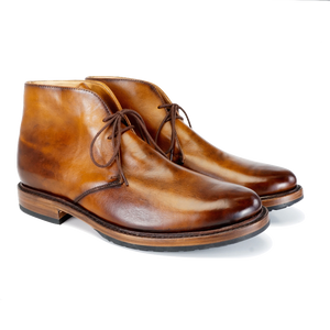 5275 Chukka Boot - Burnished Tan - LeatherLately