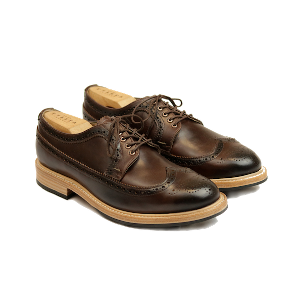 1660 London Long Wingtip Derby Shoes