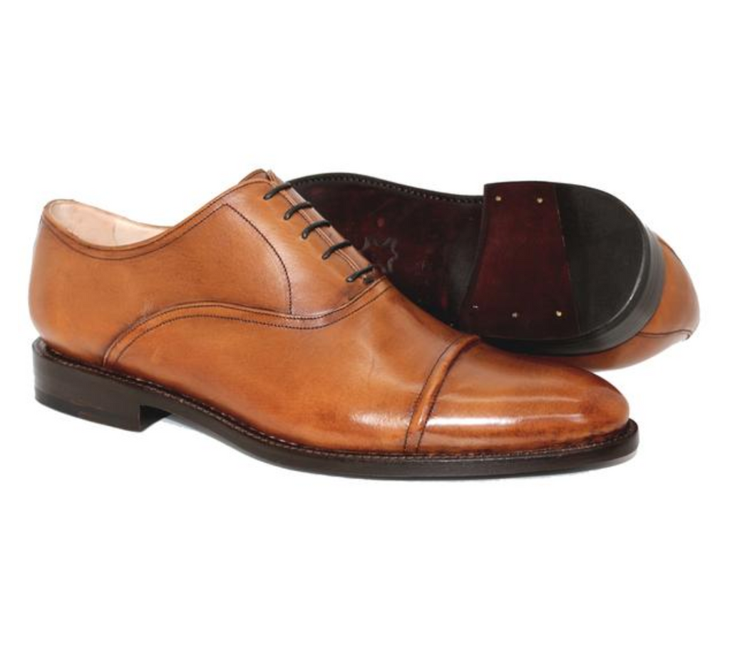 5294 NY Raised Cap Toe Oxford