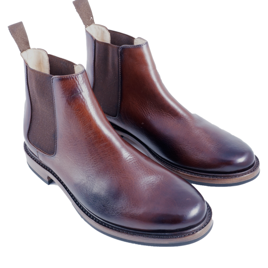 5278 Chelsea Boot - Burnished Seahorse - LeatherLately
