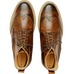 5261 London Wing Tip Derby Boots