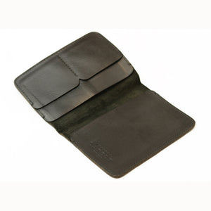 Leather Passport Holder - Black - LeatherLately