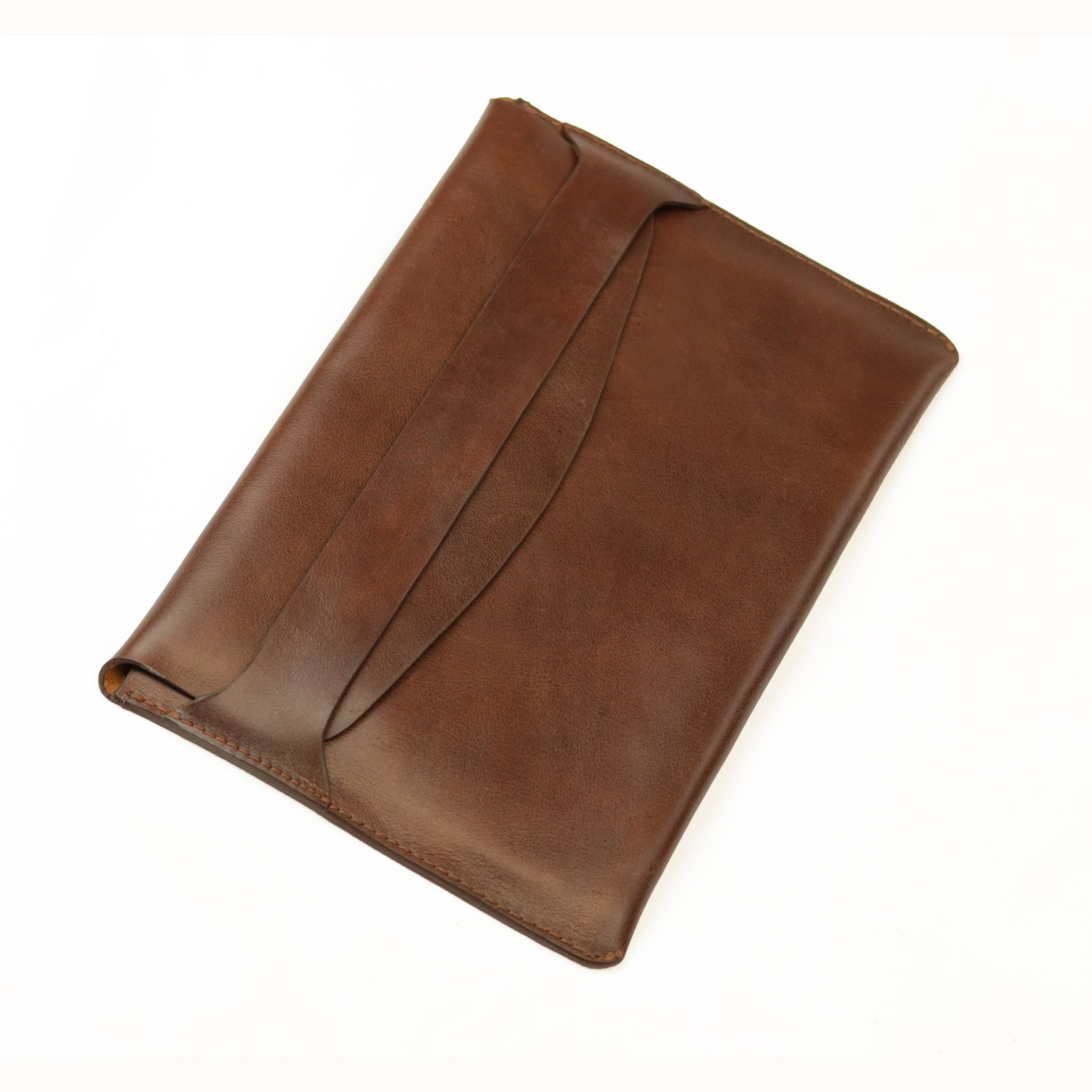 Leather iPad Holder - Brown - LeatherLately