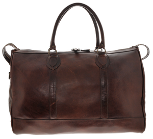 Leather Duffel Bag - Brown - LeatherLately
