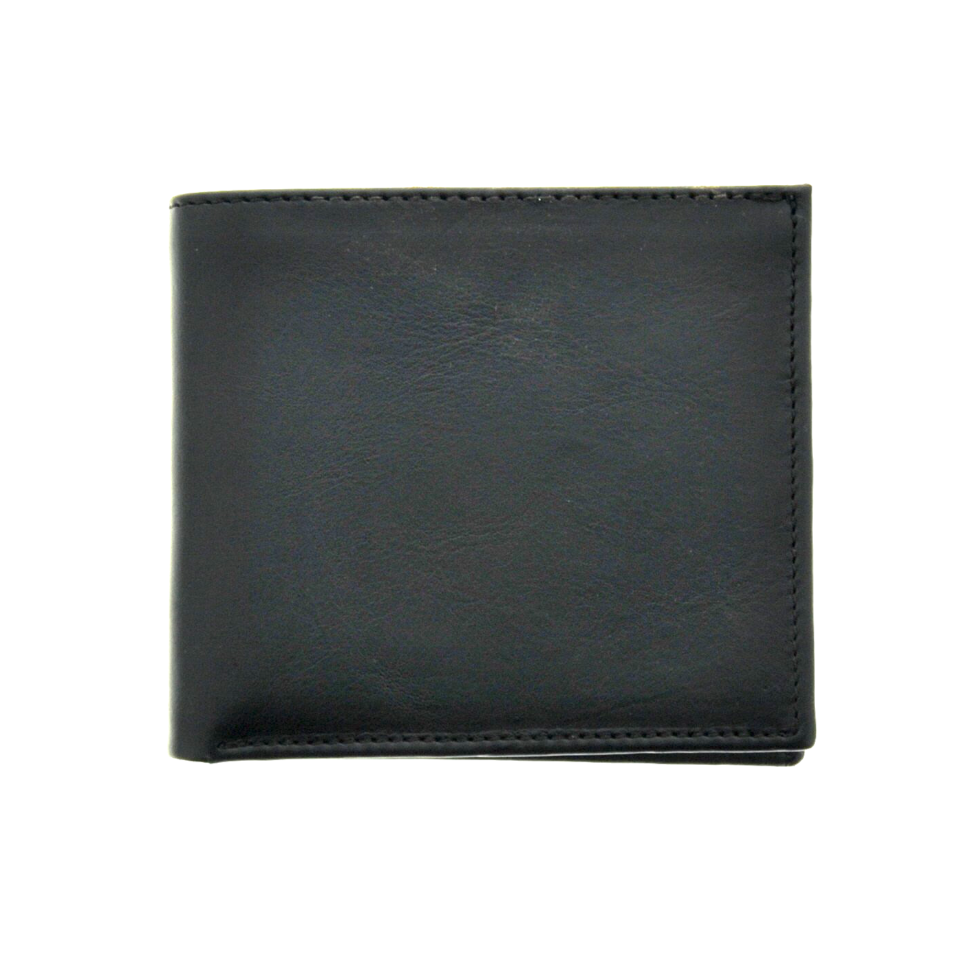 Leather Bifold Wallet - Black - LeatherLately