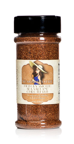 Yo Momma's Style Hickory Smoked Sea Salt and Chipotle Rub 5.15oz