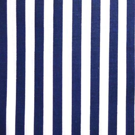 Striped Poly Cotton Fabric