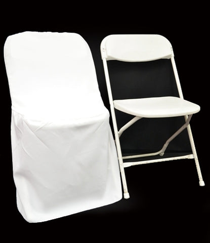 Polyester Metal Folding Plastic Chair Cover