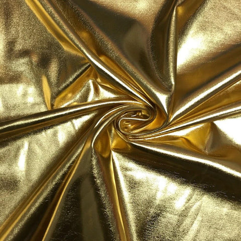 Solid Metallic Spandex Fabric