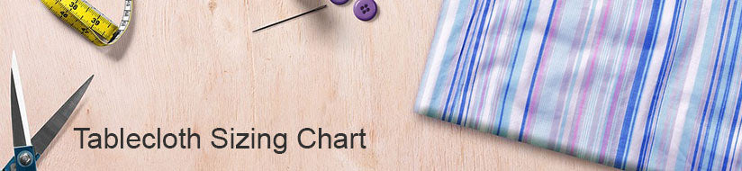 Tablecloth Sizing Chart Fabric Bravo