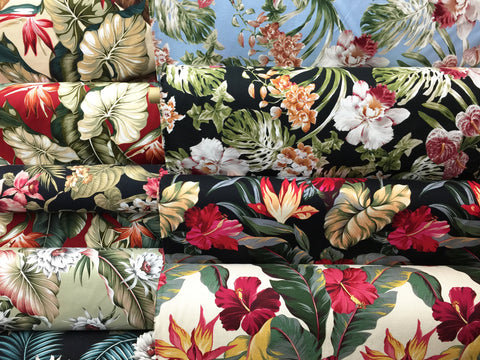 Tropical and Beach Fabric