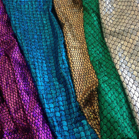 Mermaid Hologram Spandex Fabric