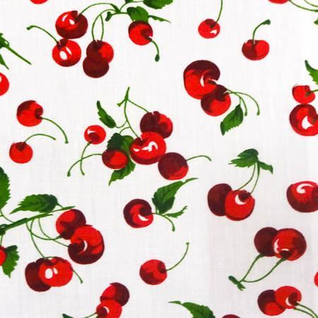Fruits and Vegetables Print Poly Cotton Fabric