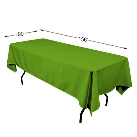 "90"" x 156"" Polyester Rectangle Tablecloth"