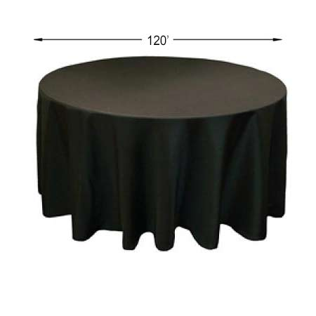 "120"" Polyester Round Tablecloth"