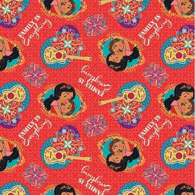Elena of Avalor Family is Everything 100% Cotton Fabric