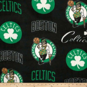 NBA Fleece Boston Celtics Fleece Fabric