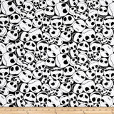 Disney Nightmare Before Christmas Packed Jack Black 100% Cotton Fabric