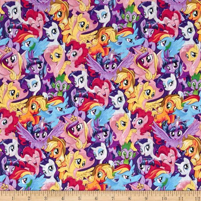Disney My Little Pony 100% Cotton Fabric