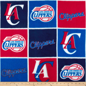 NBA Los Angeles Clippers Fleece Fabric
