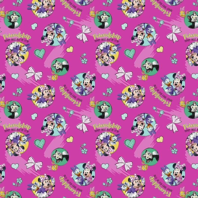 Minnie Mouse Friendship Never Goes Out of Style 100% Cotton Fabric