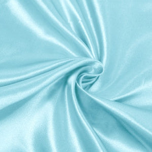 Aqua Green Bridal Satin Fabric