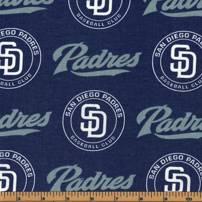 San Diego Padres 100% Cotton Fabric