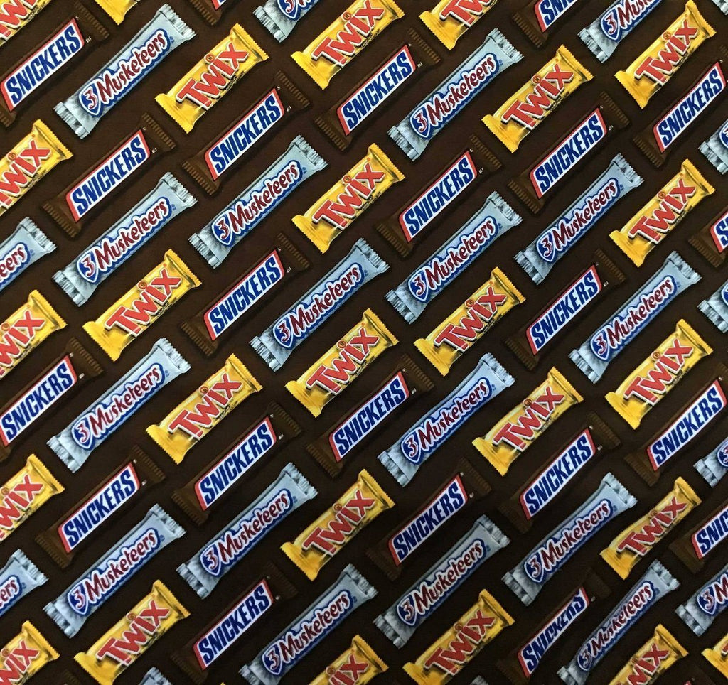 Twix Sneakers Chocolate 100% Cotton Fabric