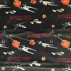 Star Wars Space Ships Battle 100% Cotton Fabric