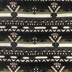 Indian Native American African 5 Print Anti Pill Fleece Fabric
