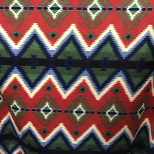 Indian Native American African 6 Print Anti Pill Fleece Fabric