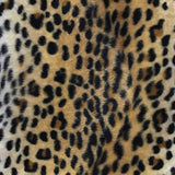 Baby Cheetah Taupe Velboa Fur Cheetah Animal Short Pile Fabric
