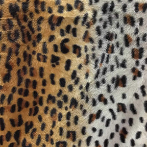 Baby Cheetah Original Velboa Fur Cheetah Animal Short Pile Fabric