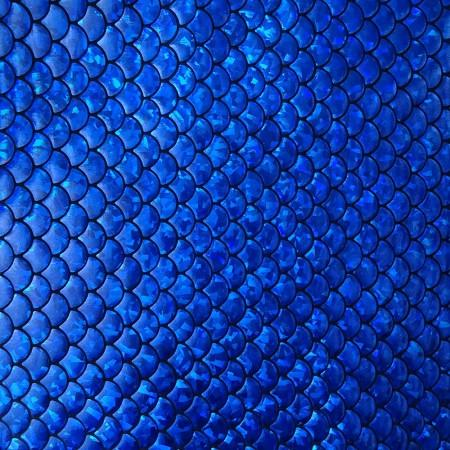 Royal Blue Mermaid Fish Scale