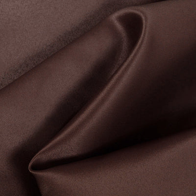 Brown Dull Matte Bridal Satin Fabric