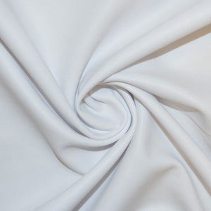 White Spandex Lame Foil Stretch Metallic Fabric
