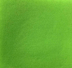 Neon Light Green Super Techno Neoprene Scuba Knit 4-way Stretch Fabric / 50 Yards Roll
