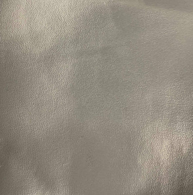 Charcoal 0.9 mm Thickness Soft Semi-PU Faux Leather Vinyl Fabric