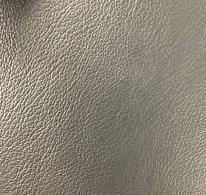 Charcoal 1.0 mm Thickness Soft PVC Faux Leather Vinyl Fabric