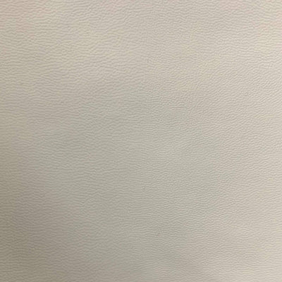 White 0.9 mm Thickness Soft Semi-PU Faux Leather Vinyl Fabric